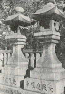 一番古い大阪燈籠・住吉大社_01a